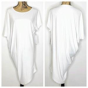 Athleta Sunlover Hilo UPF Dress White XS NEW